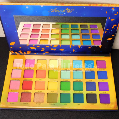 Amor Us Remember Me Eyeshadow Palette Femme Fatale Beauty Palette Pigmented Cake
