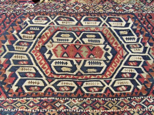 Fabulous Antique Awesome Rare Collections East Anatolian Fragment Kilim Bag Face
