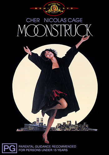 Cher Nicholas Cage MOONSTRUCK DVD (NEW & SEALED)