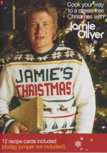 Jamie's Christmas - DVD - Includes 12 Recipe Cards - Cooking