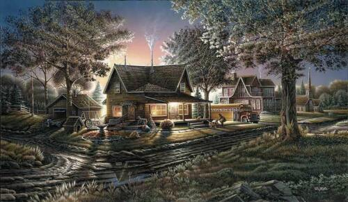 Terry Redlin His First Day Encore Art Print 18 x 10.5