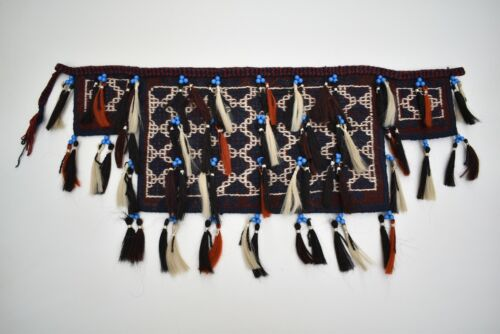 Fabulous Antique Awesome Collector's Piece Anatolian Completey Kilim Spoon Bag