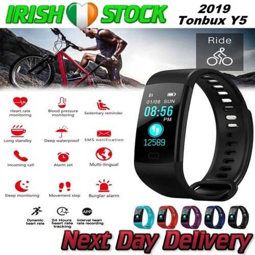 Fitness Activity Tracker Smart Watch Bracelet Heart Monitor Android and iPhone <br/> Heart Rate✔️Waterproof✔️Blood Pressure✔️Android & IOS