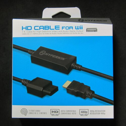 Hyperkin Wii HD HDMI Cable Adapter for Nintendo Wii Console to HDTV Brand New