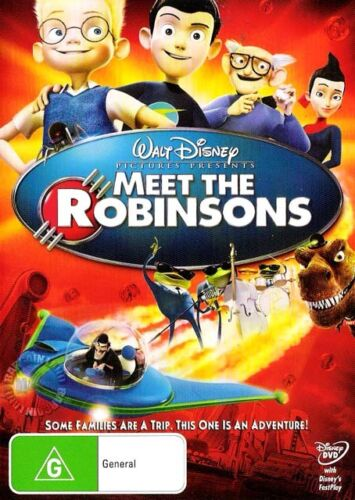 MEET THE ROBINSONS : NEW DVD