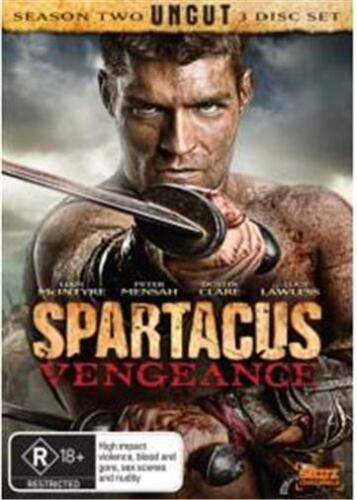 SPARTACUS: Blood & Sand / Gods of The Arena / Vengeance : NEW DVD