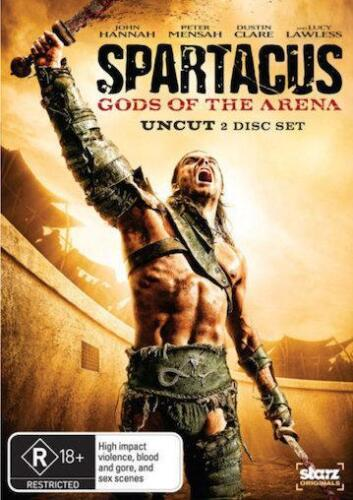 SPARTACUS: Blood & Sand / Gods of The Arena : NEW DVD