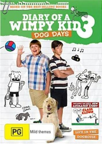 Diary Of A Wimpy Kid 3: Dog Days : NEW DVD