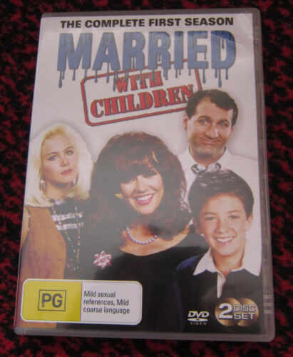 Married With Children Complete First Season DVD. Excellent Condition