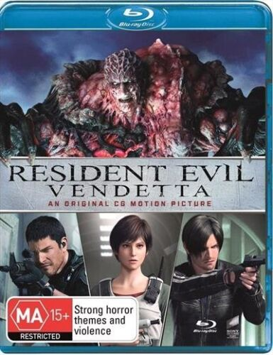 Resident Evil - Vendetta : NEW Blu-Ray