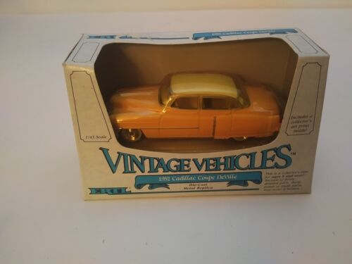 1952 Pink Cadillac Coupe Deville DieCast 1:43 Scale