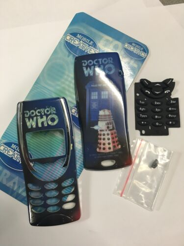Nokia 8210 Dr Who Housings/Covers Set incl. Front & Rear plus Keypad HNK82DRWST