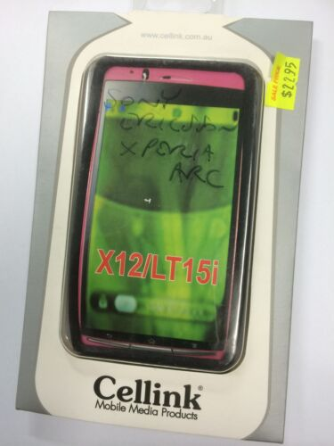 Sony Ericsson Xperia Arc X12 Silicon Case Black SCC676BK. Brand New in packaging
