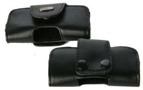 Nokia 8210, 8250, 8310 Universal Side-Carry Leather Pouch with Belt Loop Cellink