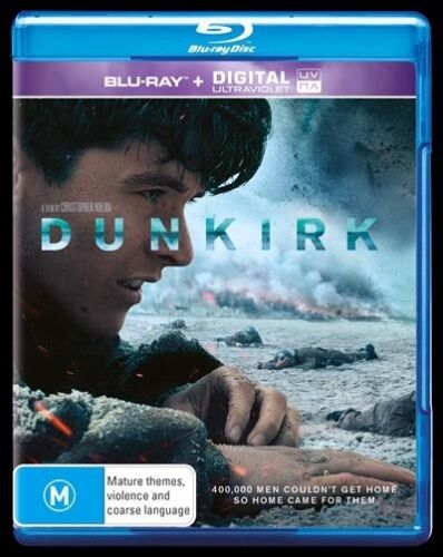 Dunkirk (Blu-ray, 2017, 2-Disc Set) : NEW