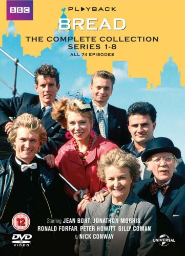 Bread The Complete Collection Season Series 1+2+3+4+5+6+7+8 NEW DVD Set Region 2