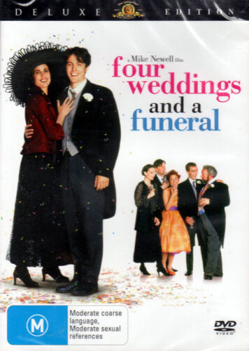 'Four Weddings and a Funeral' Deluxe Edition - DVD