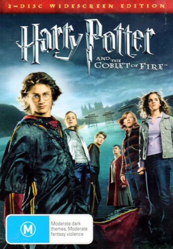 Harry Potter And The Goblet Of Fire - 2 DVD Set - New & Sealed