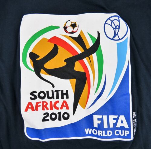 South Africa 2010 FIFA World Cup T Shirt size XXL Navy Blue Cotton