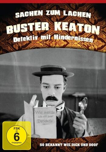 Things On Lachen Classic Buster Keaton Vol. 1 Detective With Hindernissen DVD