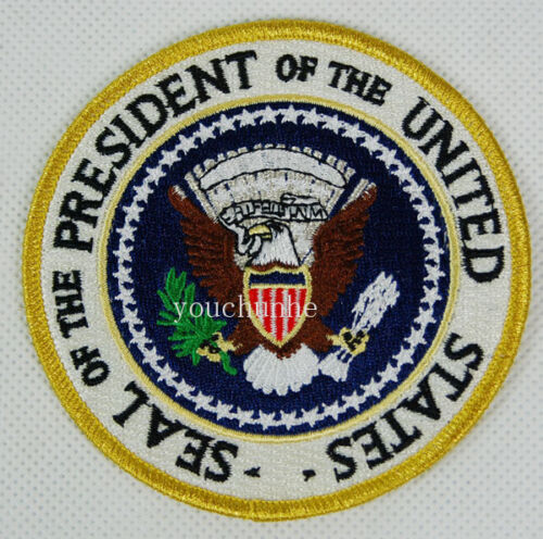 US PRESIDENTIAL SEAL OF THE PRESIDENT EMBROIDERED PATCH -32276Reproductions - 156452