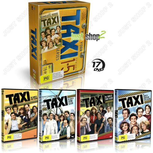 Taxi DVD : Complete TV Series : New & Sealed 17 Disc Boxset