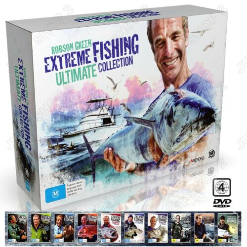Extreme Fishing Robson Green Ultimate Collection : New & Sealed All Seasons Set