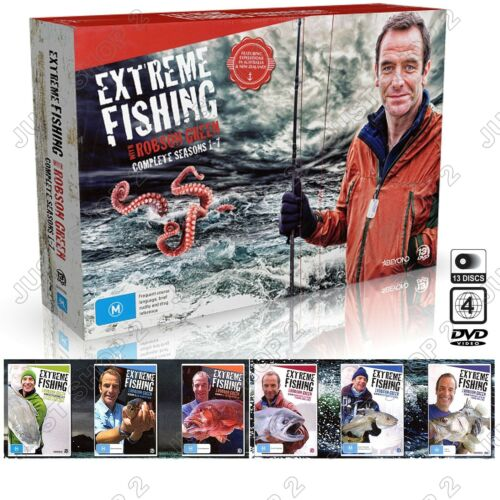 Extreme Fishing With Robson Green : Season 1-7 : (13-Disc Set) : New & Sealed