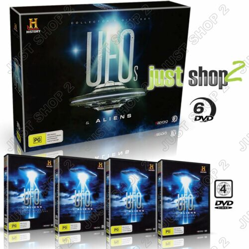UFO's & Aliens : Complete 6-Disc Set : Brand New & Sealed (RARE)