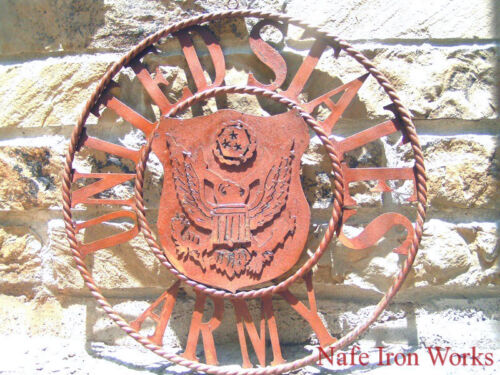 Metal Iron Art United States ARMY Sign, 0629, 22 inchesReproductions - 156470