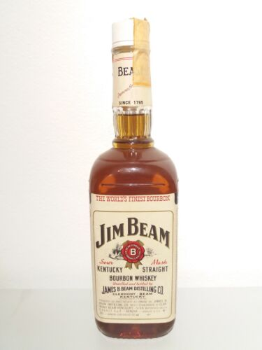 Jim Beam Kentucky Straight Bourbon 1980s