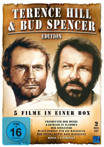 Bud Spencer & Terence Hill Collection 2 DVD New