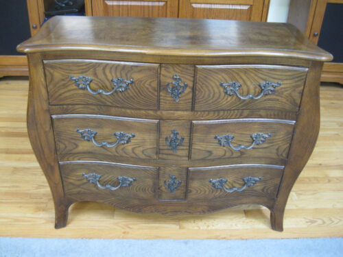 Beautiful Baker Furniture Co Sideboard or Chest Exquisite Ash (Oak?) Grain Lines