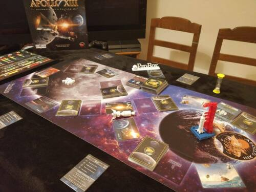 Playmat + Equipment 3d Per Apollo Xiii The Board Game