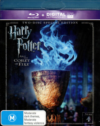 Harry Potter And The Goblet Of Fire  - Mint 2 Blu-ray Set