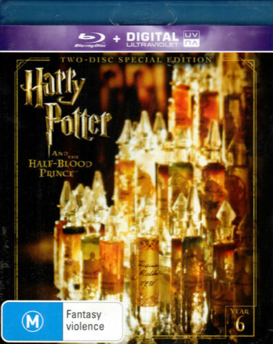 Harry Potter And The Half-Blood Prince   - Mint 2 Blu-ray Set