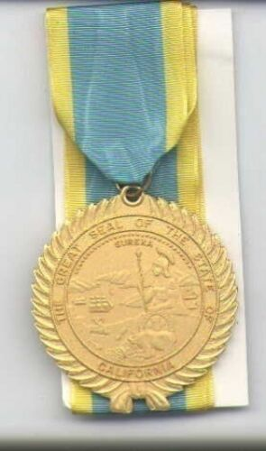 California Distinguished Service medal with neck ribbonOther Militaria - 135