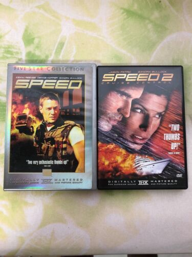 Original DVD Movies - Speed 1 and 2