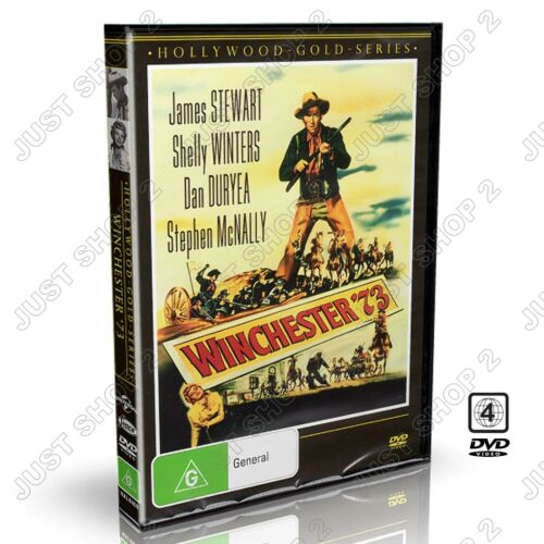 Winchester '73 (1950) : James Stewart & Shelley Winters : Brand New & Sealed