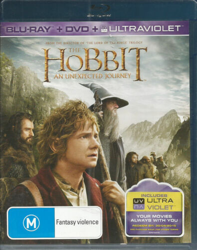 The Hobbit - An Unexpected Journey (Blu-ray/DVD 3-Disc Set)