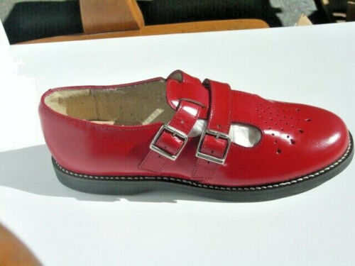 Muffy's Red English Leather Sandal US Women's sizes