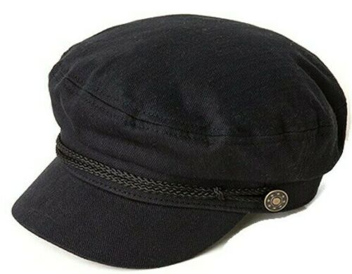 O'Neill Boardwalk Donna 100% Viscosa Capitano Cappello Nero Nuovo