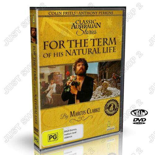 For The Term Of His Natural Life DVD : Australian Stories Movie : Brand New