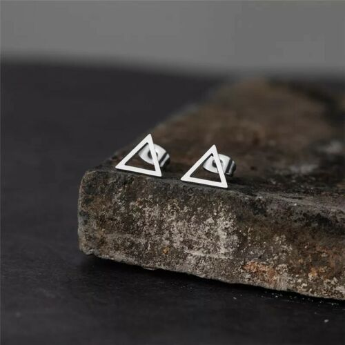 Triangle Stud Earrings - Stainless stell - Au Seller