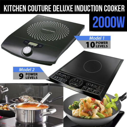 2000W Electric Induction Cooktop Hotplate Kitchen Cooker Hot Plate Portable