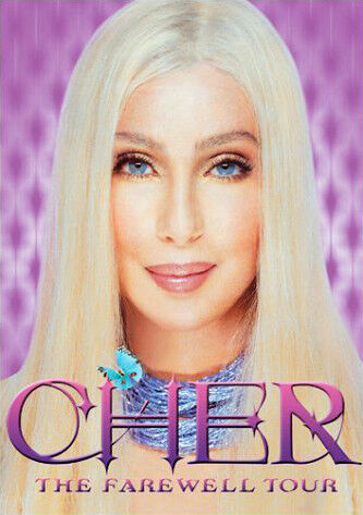 CHER - THE FAREWELL TOUR (HOLOGRAPHIC EDITION) SUPER RARE DVD (NEW & SEALED)