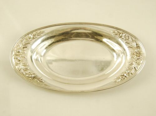 S. Kirk & Son Sterling Silver Repousse Bread Tray #735R
