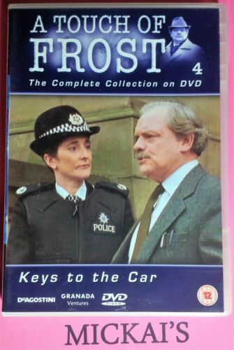 KEYS TO THE CAR - A TOUCH OF FROST COLLECTION NUMBER 4 TOFTCCN04D DVD PAL UK OOP