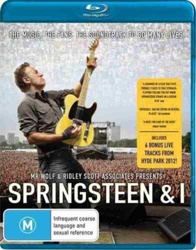 Springsteen & i - Blu Ray - includes Live Tracks