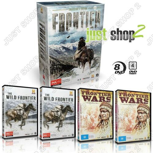 Frontier DVD American History Documentary :The Indian Wars + Buffalo Bill & more